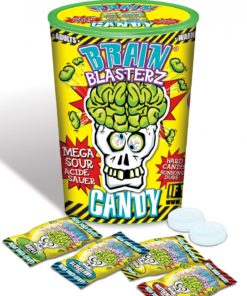 Brain Blasterz Mega Sour Hard Candy