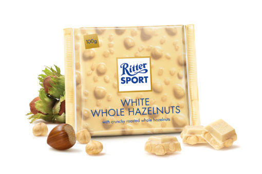Ritter sport White whole Hazelnut
