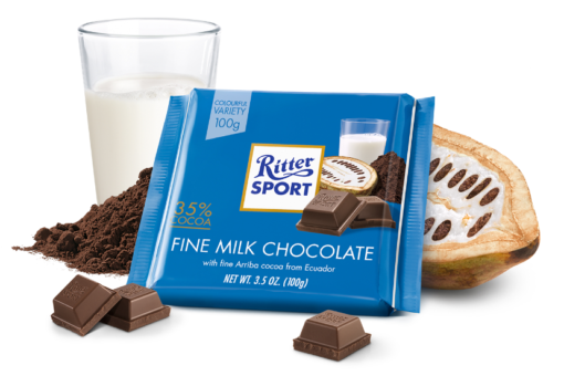 Ritter Sport Fine Milk Chocolate
