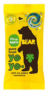 Bear Nibbles Pineapple YOYO