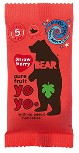Bear Nibbles Strawberry YOYO
