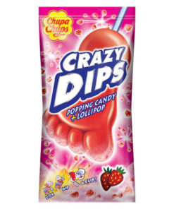 Chupa Chups Crazy Dip Strawberry