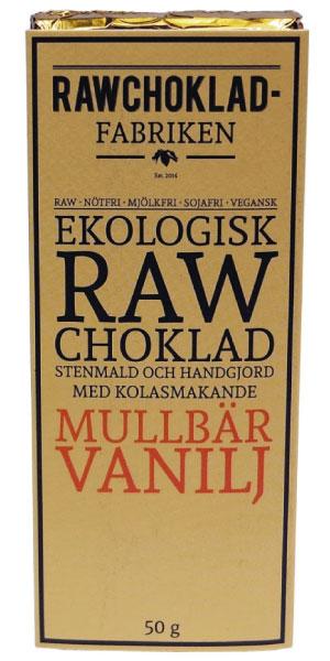 Rawchokladfabriken Mullbär Vanilj
